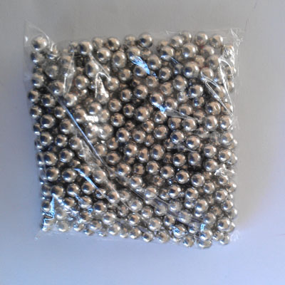 Edible Pearl 5mm Silver 1 kgr