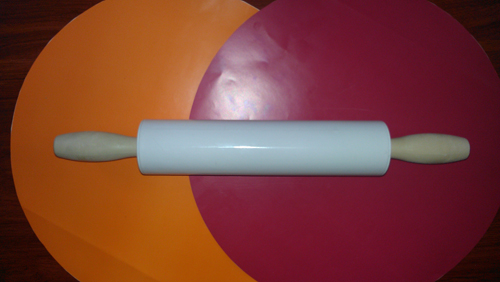 Plastic roller with sleeves 40 cm