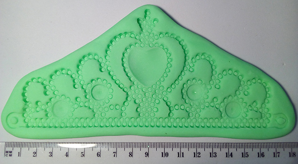Silicone Mould  Crown 5