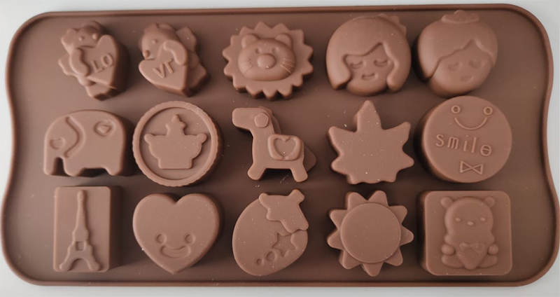 smile chocolate mold