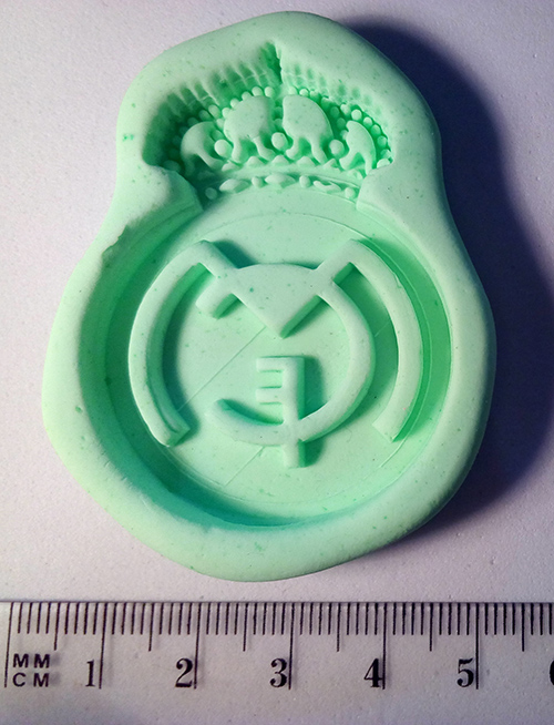 Silicone Mould Real Madrid logo