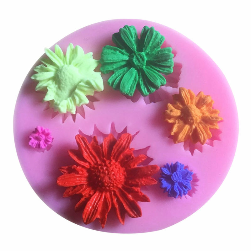 Silicone Molds Flower