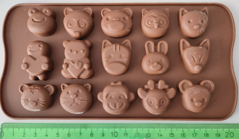 animal mold silicone