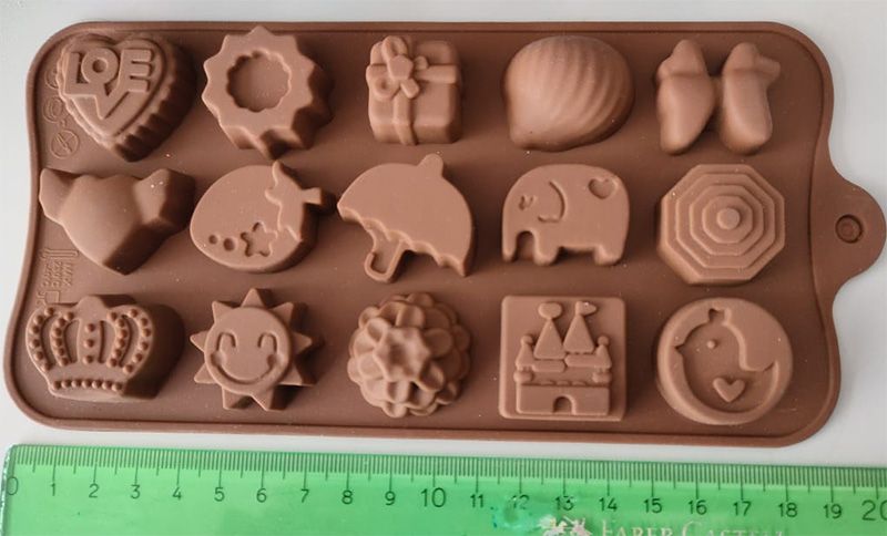 silicone mold elephant and castle