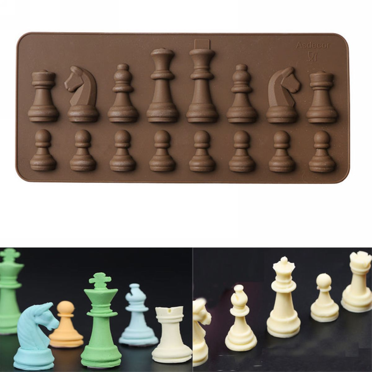 Silicone Mold Chess