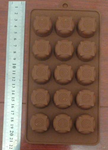 Silicone Mould chocolate spiral