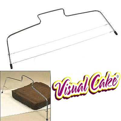 Adjustable Wire Cake Slicer Leveler Stainless Steel Slices