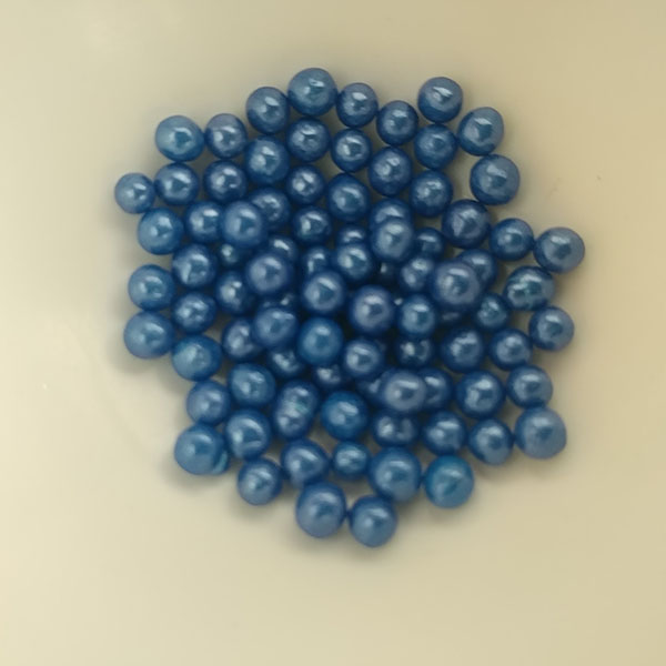 edible king blue pearl 4 mm 100 grs