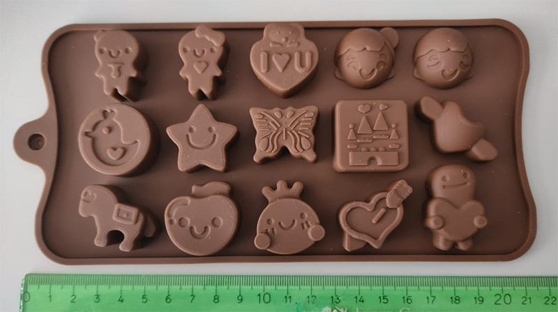 Silicone Mold faces an Butterfly