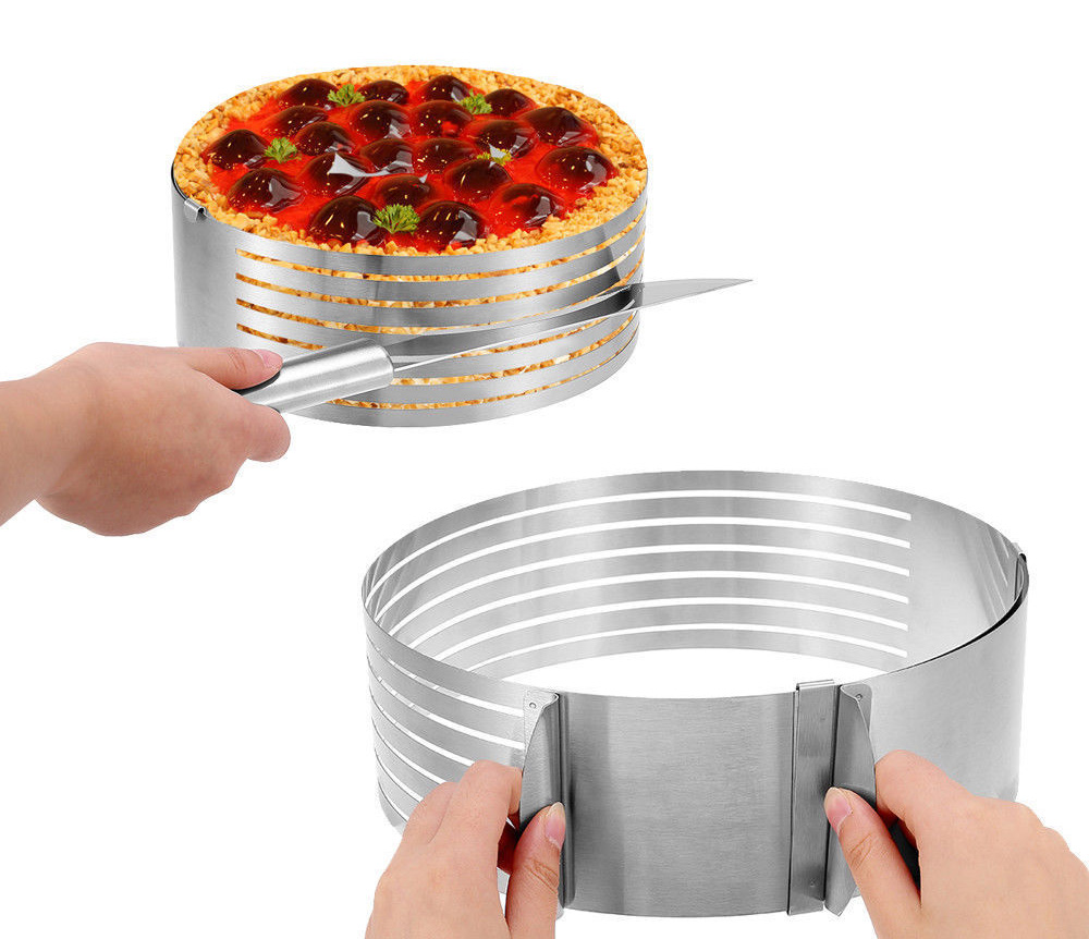Adjustable Round Ring Cake Slicer