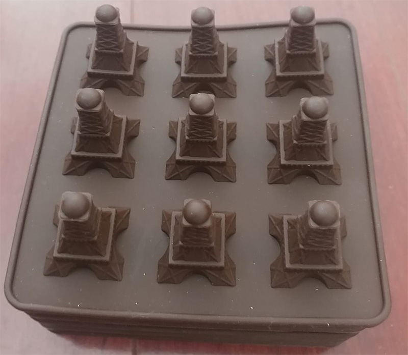 Silicone Mould  Eiffel tower