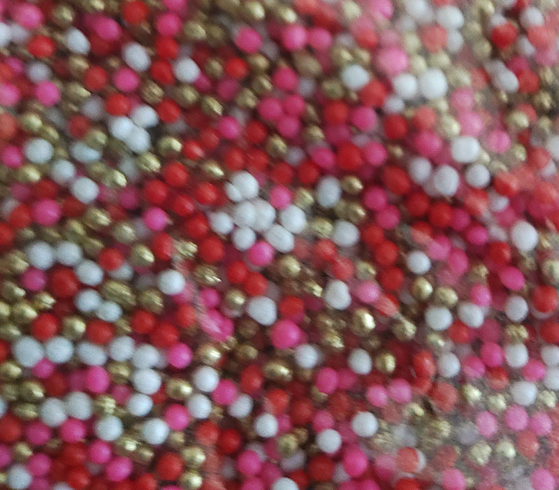 edible mini  pearl rrd  1 mm 100 grs
