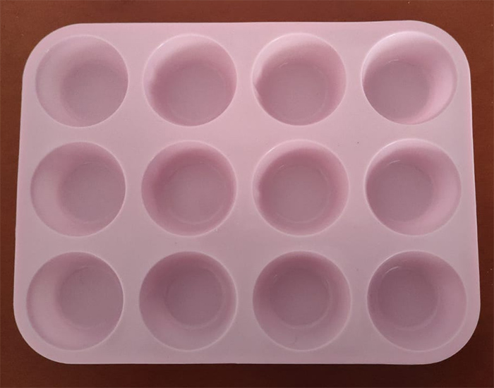 cupcake molds in silicone 12 unitas